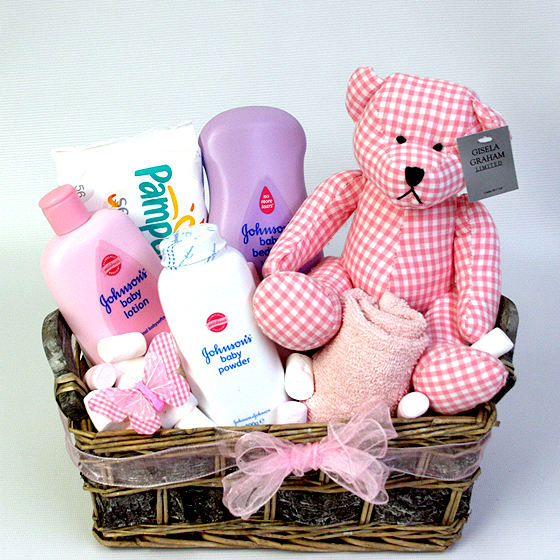Baby Gifts Delivered Ireland : Baby girl hamper