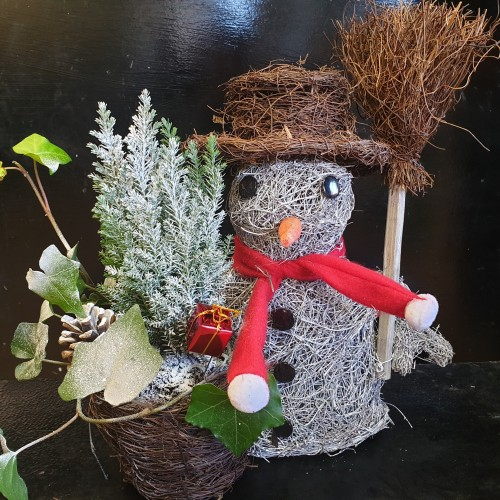 Christmas Snowman Planter Gifts