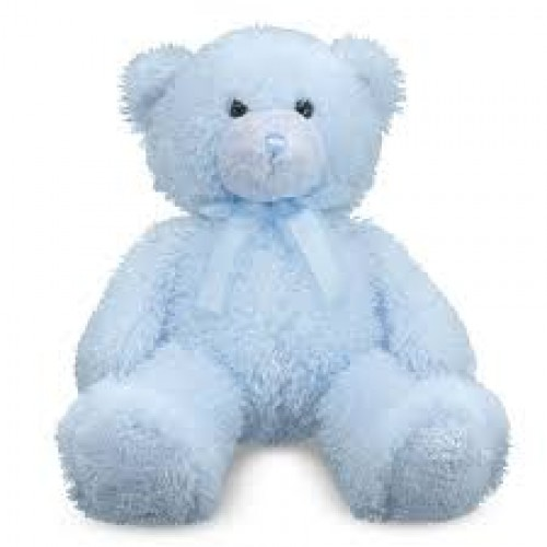 Blue baby teddy new blue teddy bear altavistaventures Image collections