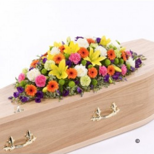 Vibrant Funeral Flowers Galway City