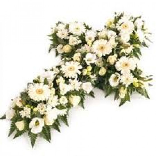 Funeral Cross Funeral Flowers