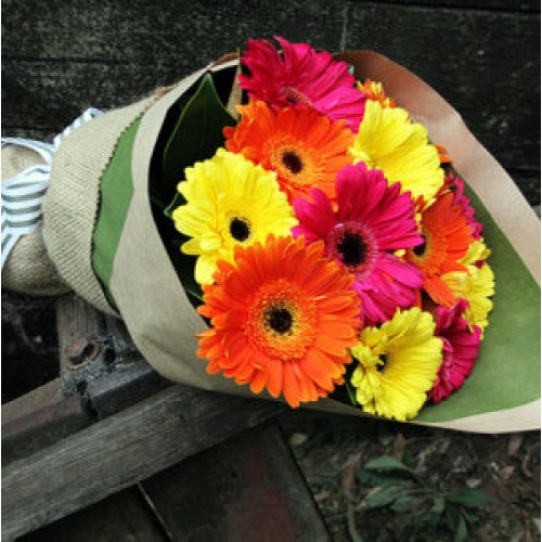 Glorious Gerberas Bouquet Of Flowers