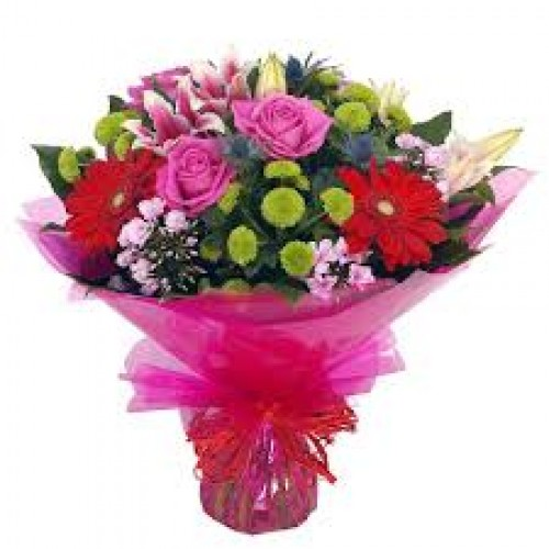 Pinky Wishes Thank You Flowers