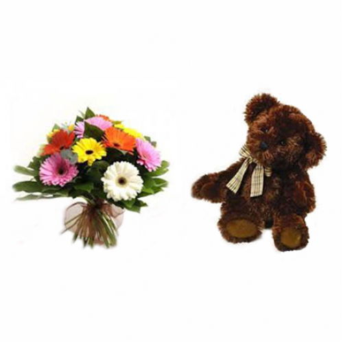 Germini And Teddy Deal Top Selling Flowers